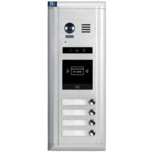 FUTURA DIGITAL DMR11S/ID/D4 Digitális kültéri kaputábla, süllyesztett kivitelben.
