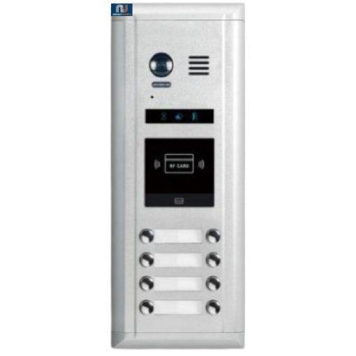 FUTURA DIGITAL DMR11S/ID/D8 Digitális kültéri kaputábla, süllyesztett kivitelben.