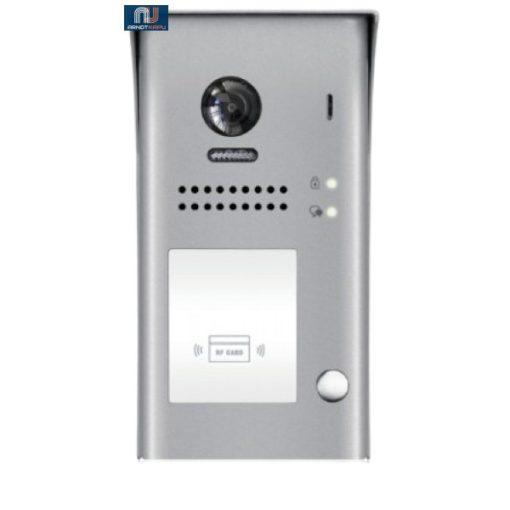 FUTURA DIGITAL 1 LAKÁSOS Digitális video kültéri kaputábla, proximity olvasóval. VDT607/ID/FE-S1