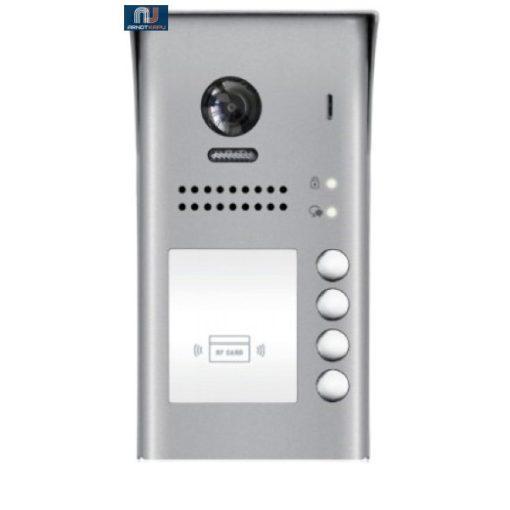 FUTURA DIGITAL 4 LAKÁSOS Digitális video kültéri kaputábla, proximity olvasóval. VDT607/ID/FE-S4