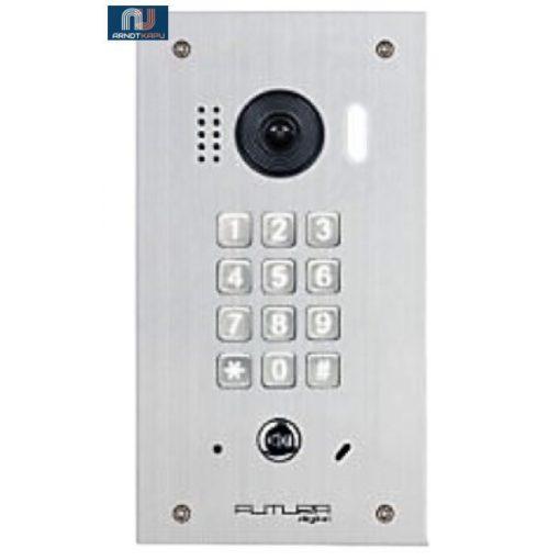 FUTURA DIGITAL 1 LAKÁSOS Digitális video kültéri sűlyesztett kaputábla, mechanikus számbillentyűzettel. VDT611F/MK