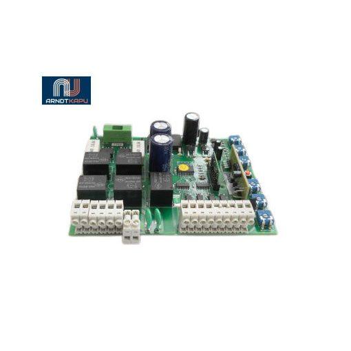 GardenGate kétmotoros vezérlő 12V-os szányaskapukhoz, doboz nélkül, teljes- és részleges nyitás, poten