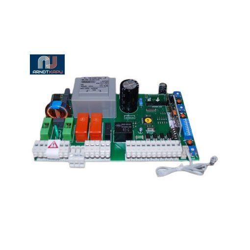 GardenGate 230Vac, kétmotoros vezérlés szányaskapukhoz, beépített 434 MHz ugrókódós vevő, KeeLoq ugrók