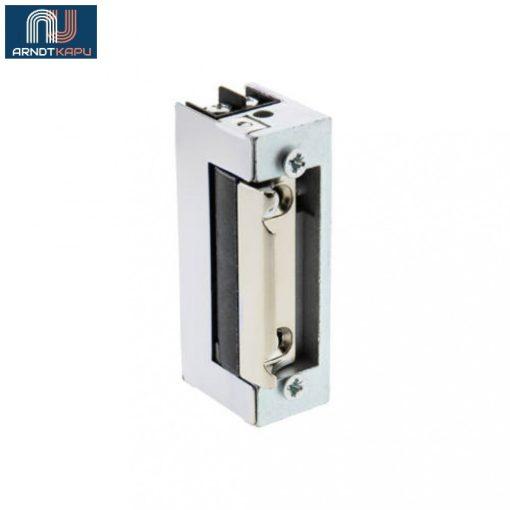 JIS - Elektromos zár (ellenoldal), 67mm, alacsony áramfelvétel, reverzibilis, 4mm állíthatóság, N/O, 12VDC, 67x21x28mm