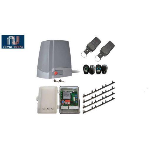 PROTECO Meko 8 kapuautomatika szett,  komplett beépítésre alkalmas csomag maximum 800 kg-os toló vagy úszókapuhoz PROTECO KIT-MEKO8-H