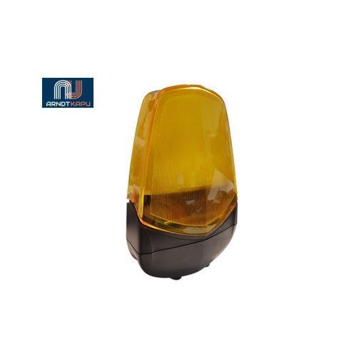 PROTECO LED-es elektronika nélküli villogó, narancssárga, (12/)24 V ac/dc, 65mA, 24db LED, 1,5W–G4
