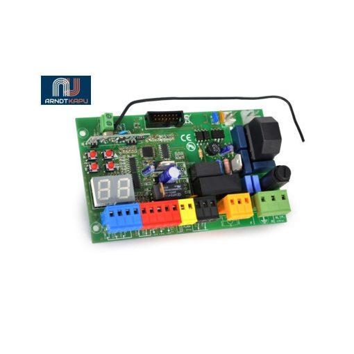 PROTECO vezérlés gördülő kapukhoz, digitális programozás, LED kijelző, automatikus vagy lépésről-l