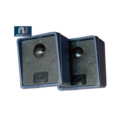 PROTECO fotocella, 12V AC/DC vagy 24VDC, 0,5A NC kontaktus, méret 65x65x35 mm, olasz, 2 év gara