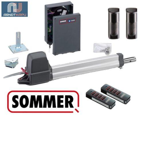 SOMMER Twist 200 E egyszárnyú kapunyitó szett 2,5 m és 200 kg vagy 1,5 m 300 kg 24 v motor (3216V017)